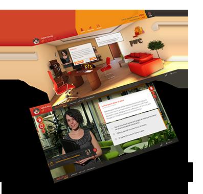 Solutii virtuale de invatare, e-training